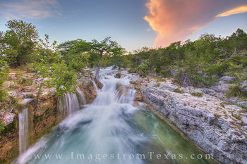 Texas Hill Country Waterfall 3