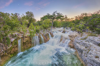 texas waterfall, texas waterfall pictures, texas waterfall prints, texas hill country, hill country prints, hill country photos, hill country waterfall, hill country sunset