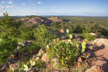 Texas Landscape of Enchanted Rock 1
