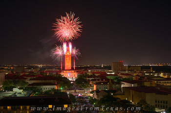 UT Tower photos,Texas tower prints,University of Texas images,Texas Tower fireworks