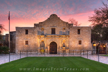 The Alamo at Sunrise 1