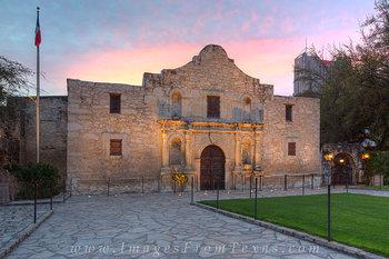 The Alamo at Sunrise 5