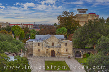 The Alamo in Late Afternoon 111-1