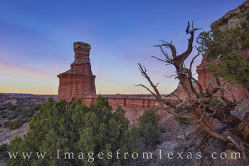 The Lighthouse in Evening - Palo Duro 1124-1