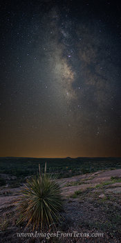 The Milky Way over Enchanted Rock 2