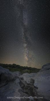 The Milky Way over Pedernales Falls 3