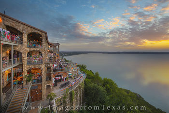 the oasis, austin images, austin texas, oasis austin, austin texas photos, oasis austin texas, austin food, austin icons, austin sunset, texas sunset, austin panorama, pano