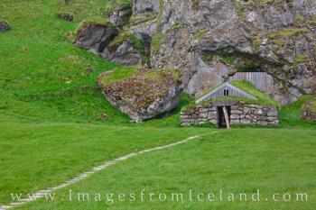The Rútshellir Cave in South Iceland 1