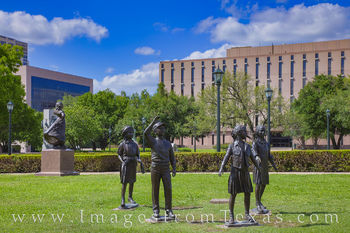 Tribute to Texas Children Monument 1