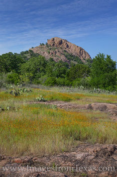 turkey peak, enchanted rock, wildflowers, texas state parks, explore, hill country