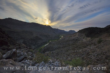 big bend ranch, rio grande, full moon, big hill, night, FM 170, dom rock, texas landscapes, state parks, Texas state parks