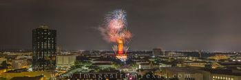 UT Tower, Fireworks, University of Texas, UT Austin, fireworks images, austin texas images, UT 2016, panorama, Texas campus