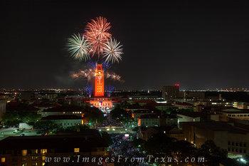 UT Tower Fireworks,Austin Skyline Pictures,UT Graduation fireworks,UT Tower Graduation,UT Tower graduation fireworks,UT Fireworks pictures,UT Fireworks prints,UT Fireworks