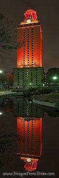 UT Tower panorama,UT Tower prints,Texas tower