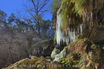 texas hill country, westcave preserve, hamilton pool, texas ice, texas snow, texas grotto, ice in texas, texas parks