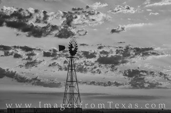 windmill, black and white, prints for sale, west texas, landscapes, amarillo, canyon, palo duro, morning, wall decor