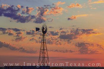 windmill, canyon, palo duro, west texas, sunrise