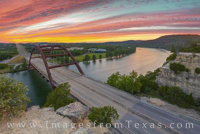 360 bridge photos,360 bridge prints,austin bridge images,pennybacker bridge pictures,austin sunset,austin texas images