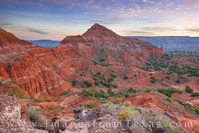 West Ridge, Capitol Peak - Palo Duro Canyon
