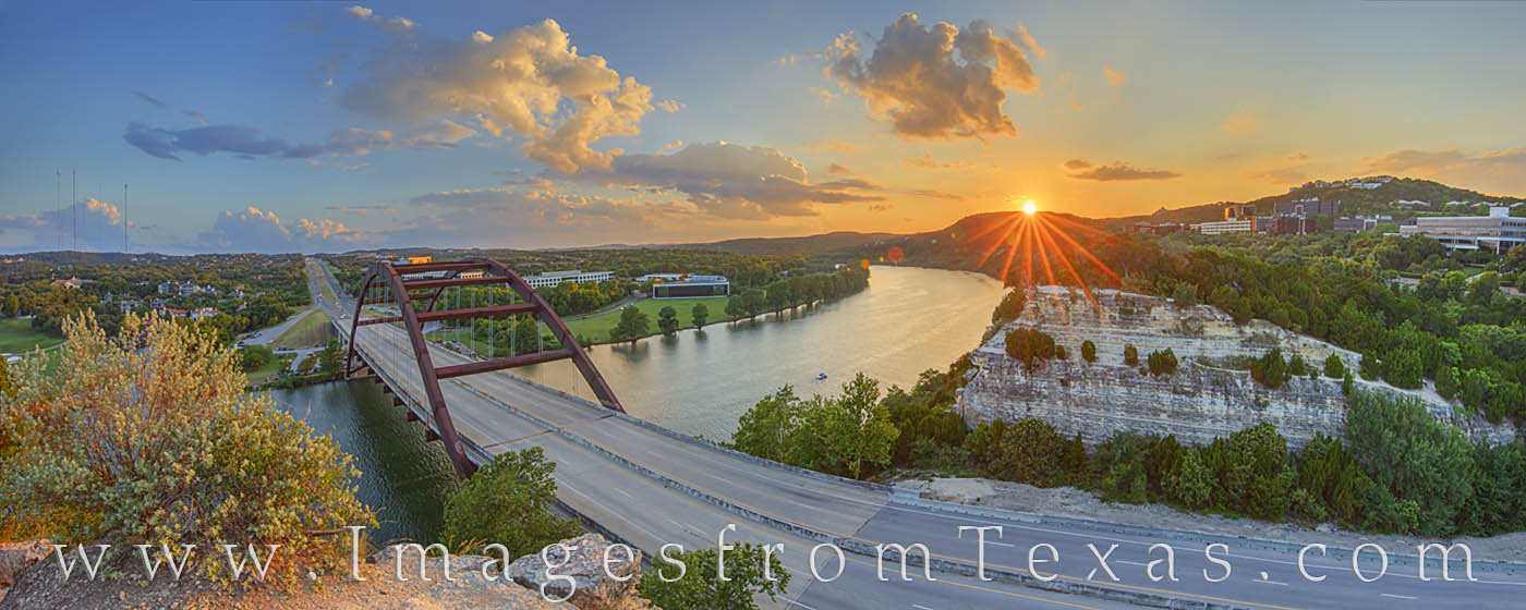 360 bridge, pennybacker, austin texas, atx, austin icons, colorado river, evening, summer, austin summer, photo