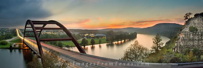 360 Bridge images,360 bridge panorama,pennybacker bridge images, photo