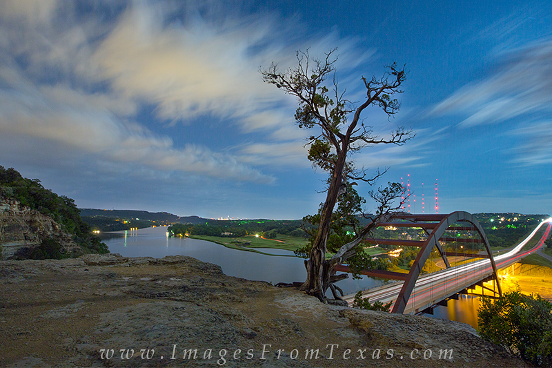 360 bridge full moon. austin bridge at night,pennybacker bridge photos, photo