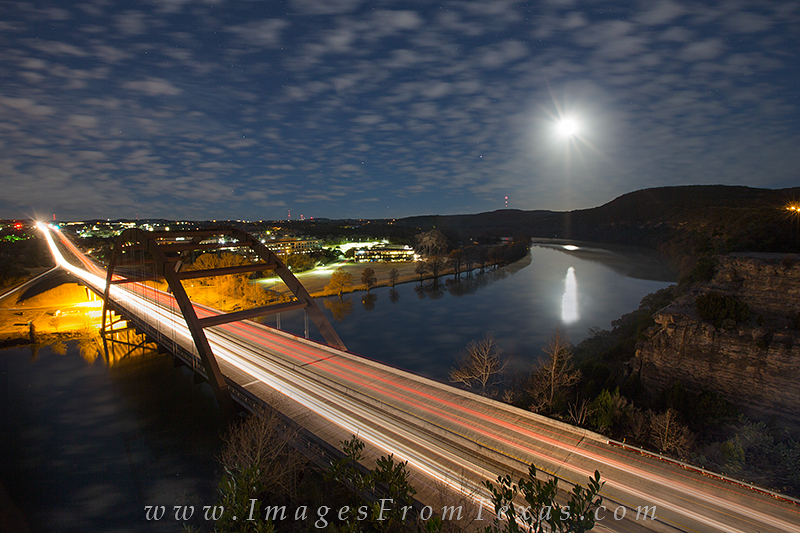 360 bridge images,penny backer bridge,austin bridges,austin texas images,austin at night, photo
