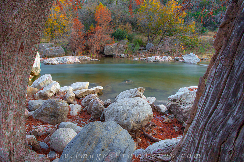 Taking a stroll along the Pedernales River in Pedernales Falls State Park, you can often find a nice place to sit and watch the...