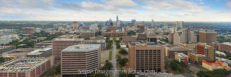 texas state capitol,austin panorama,austin skyline pano,texas state capitol pano,austin texas images,austin tx photos,aerial views,aerial images, photo