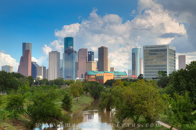 houston texas images,houston skyline prints,houston skyline,buffalo bayou houston,buffalo bayou, photo