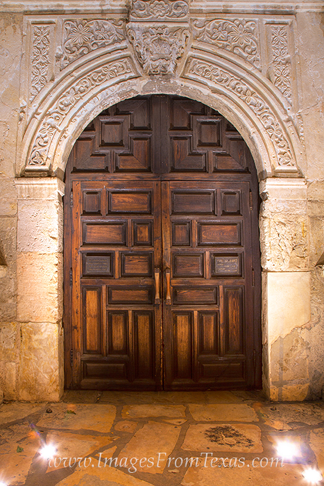 Alamo Front Door 3 The Alamo Images From Texas