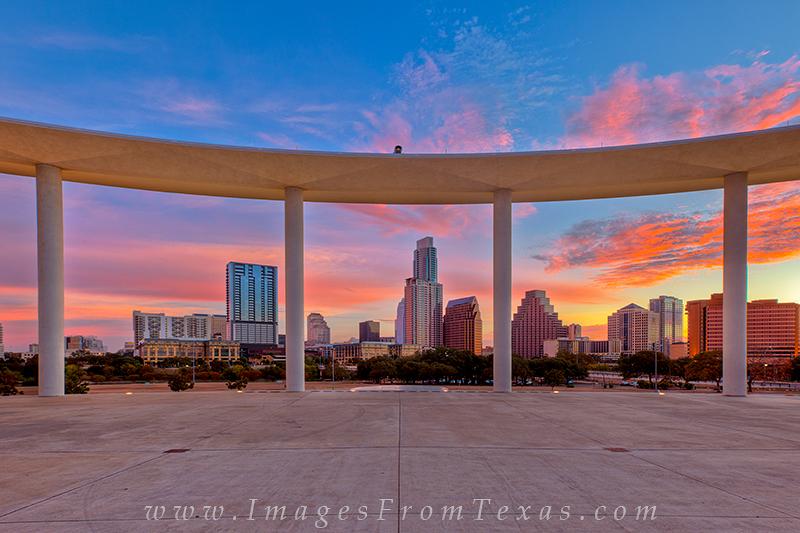 long center view,austin texas images,austin cityscape,austonian,austin skyline, photo