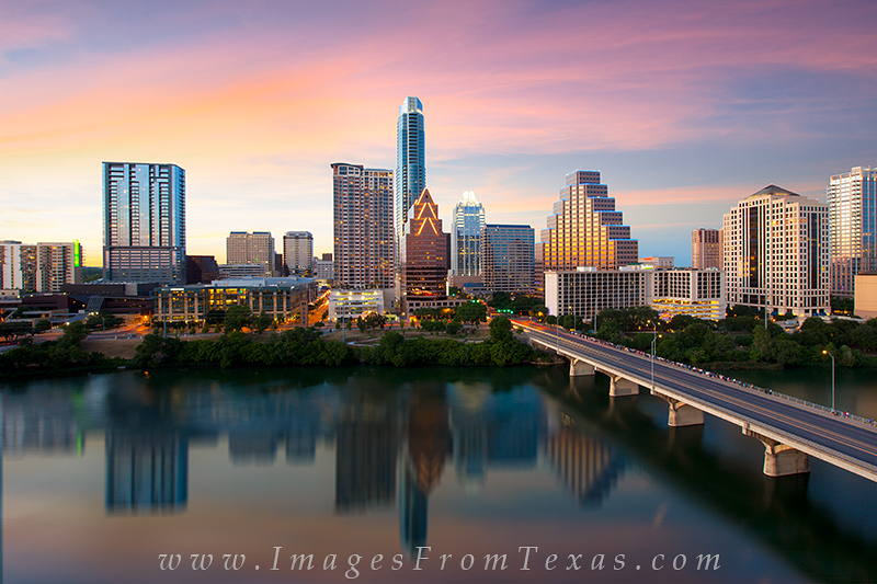 downtown austin texas,austin from the hyatt,austin skyline prints,austin skyline, photo