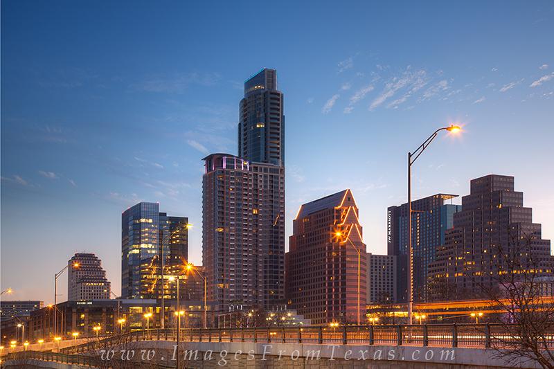 austin cityscape,austin skyline photos,first street bridge,austin texas,downtown austin images, photo