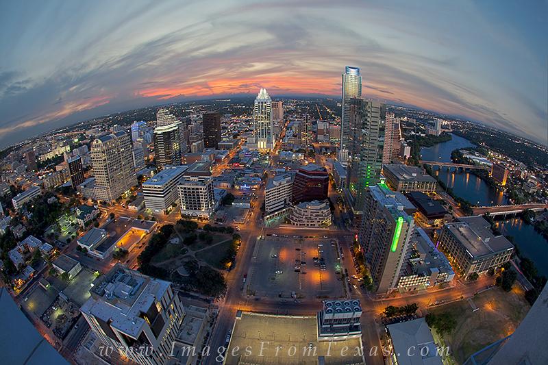 austin skyline prints,austin tx,downtown austin,aireal view of austin, photo