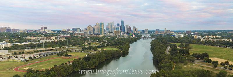 austin panorama,austin aerial,over austin,austin skyline,austin texas panorama,lady bird lake,zilker park,austin texas photos, photo