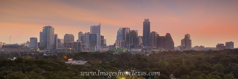 austin skyline panorama,downtown austin,austin texas images,austin skyline pictures,austin texas pano,austin texas prints, photo