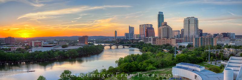 austin pano,austin skyline panorama,lady bird lake images,lady bird lake pano,Austin sunset photos,Austin sunset, photo