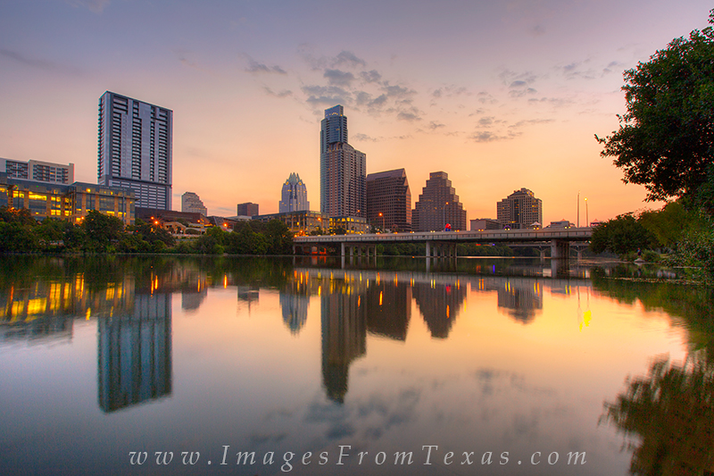 lady bird lake images,downtown austin photos,austin cityscape,austin texas sunrise,austin skyline color, photo