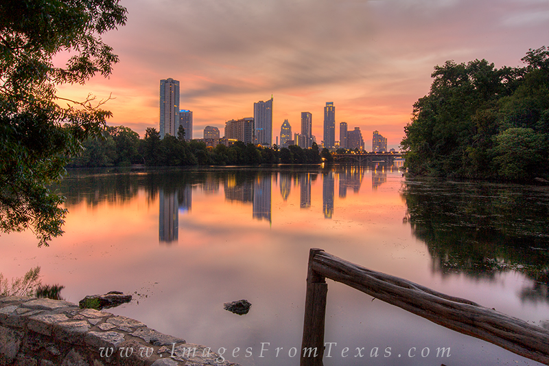 lou neff point,lady bird lake,austin cityscape,zilker park images,austin sunrise, photo