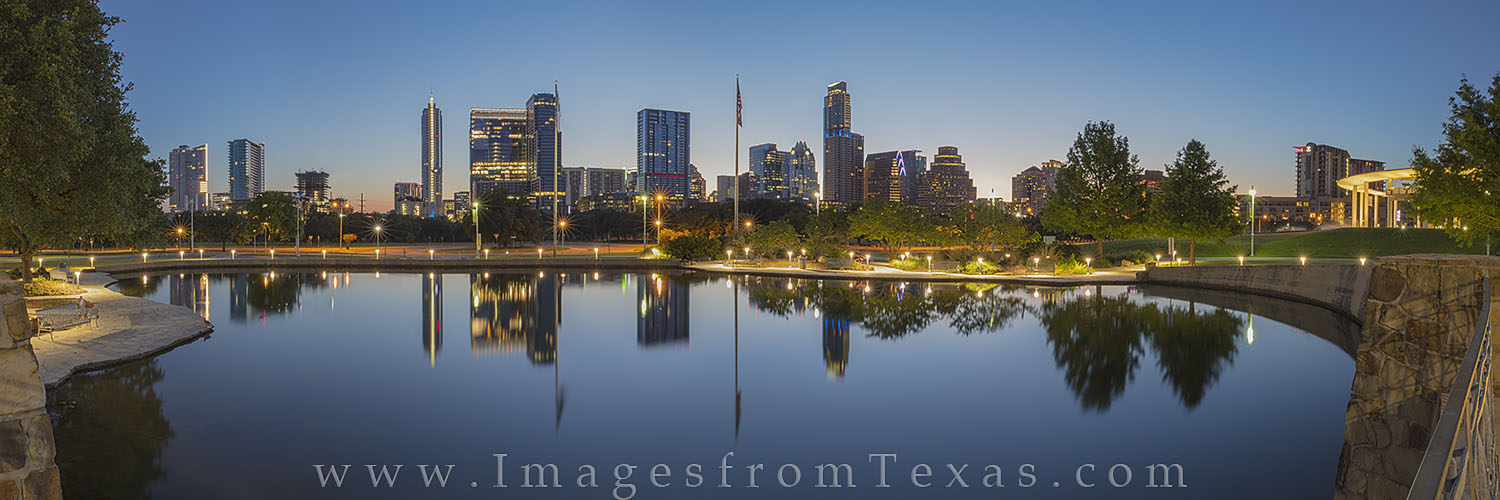 austin skyline, downtown austin, austin panorama, pano, austin cityscape, austin texas images, austin prints, long center, frost tower, austonian, photo