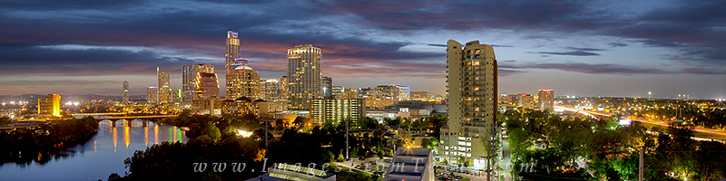 austin panorama,austin skyline,austin texas, photo