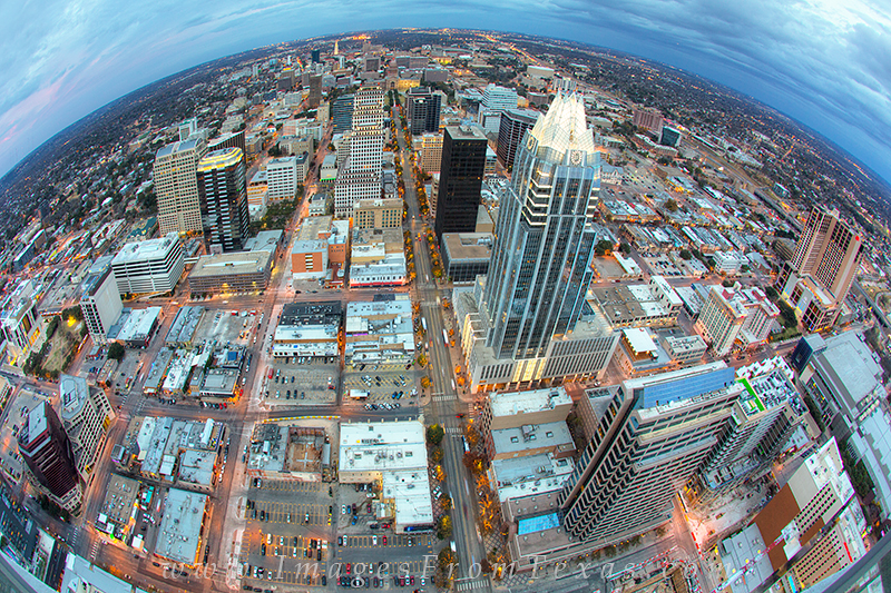 downtown austin photos,austin cityscapes,frost tower,austin texas, photo