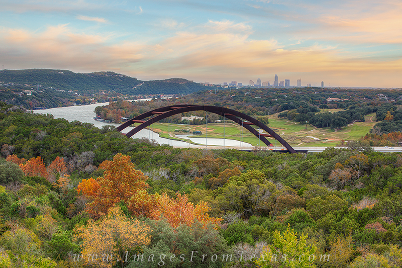 austin texas images,autumn in austin,360 bridge,pennybacker bridge, photo