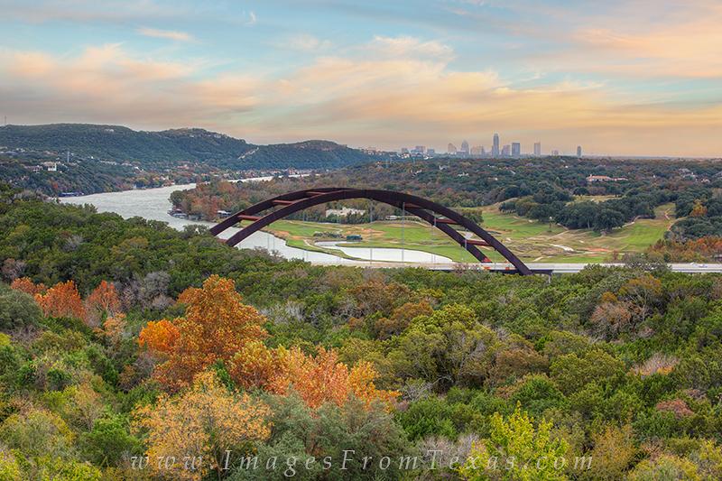 austin texas images,autumn in austin,360 bridge,pennybacker bridge, photo