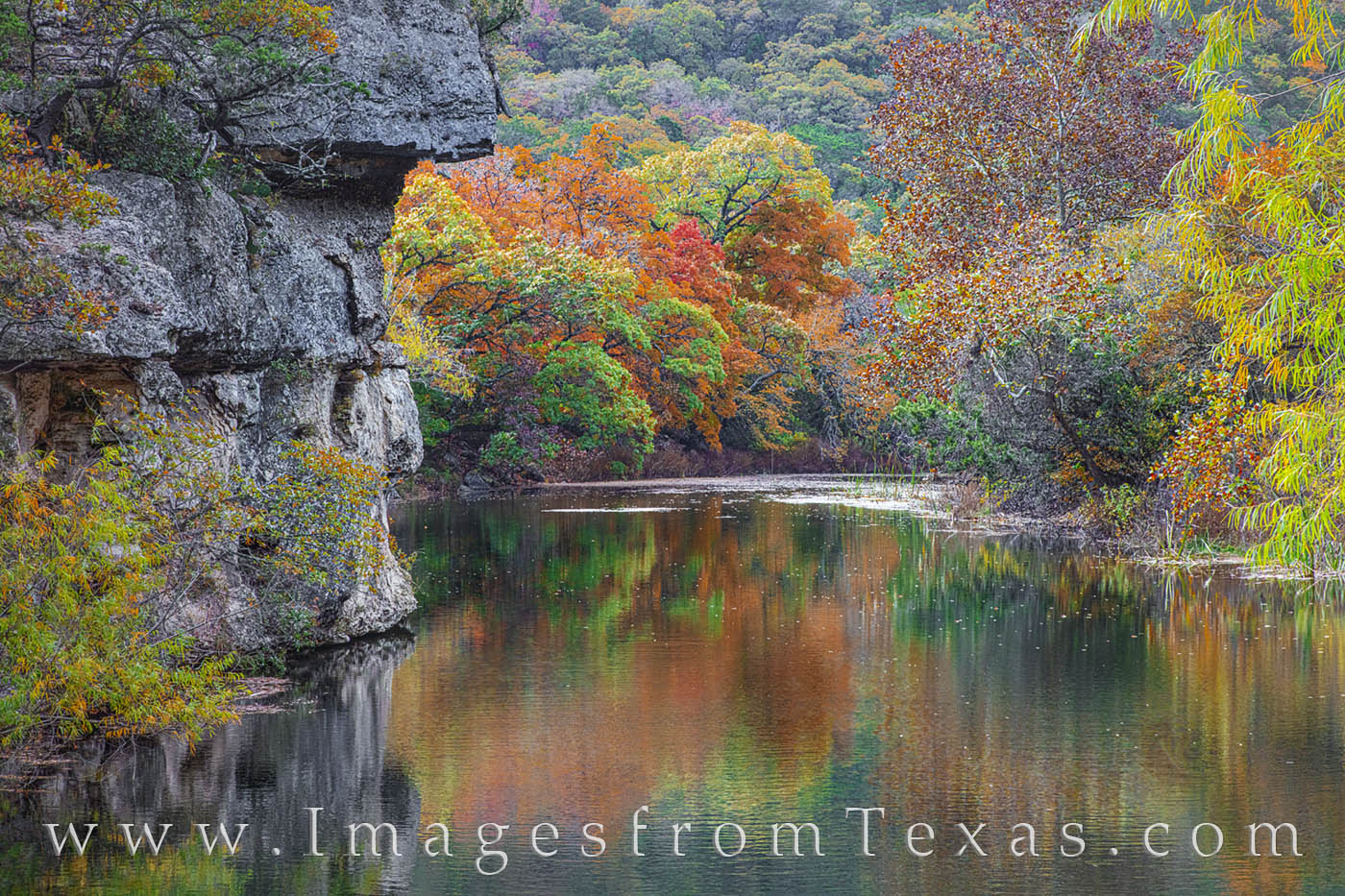 lost maples, east trail, west trail, ponds, fall, autumn, fall colors, texas state parks, maples trees red maple, lost maples prints, autumn prints, fall colors prints