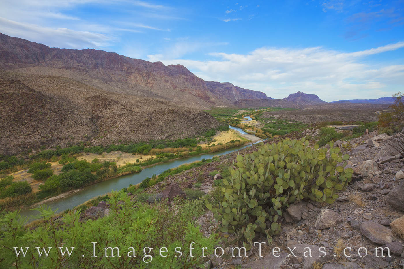 big bend ranch, rio grande, green, west texas, bbrsp, mexico, border, FM 170, photo