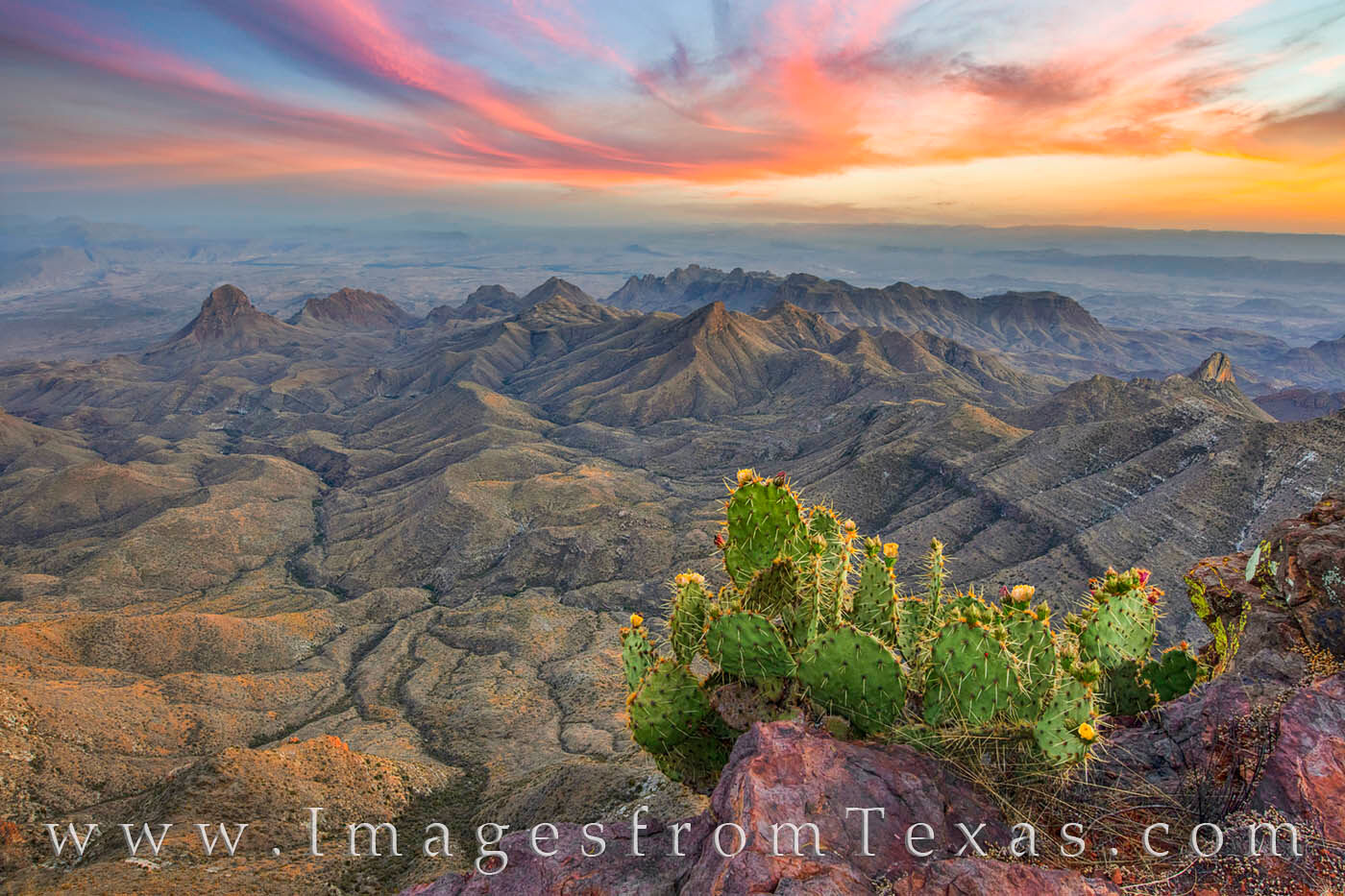 big bend national park, big bend images, south rim, south rim hike, texas sunset, texas hikes, texas landscapes, texas national parks, photo