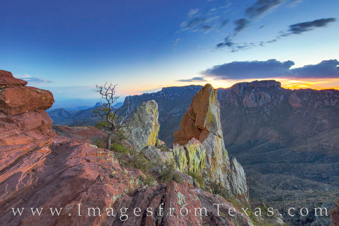 I had walked to the top of the Lost Mine Trail in Big Bend National Park to shoot sunset, but also to linger a few hours and...