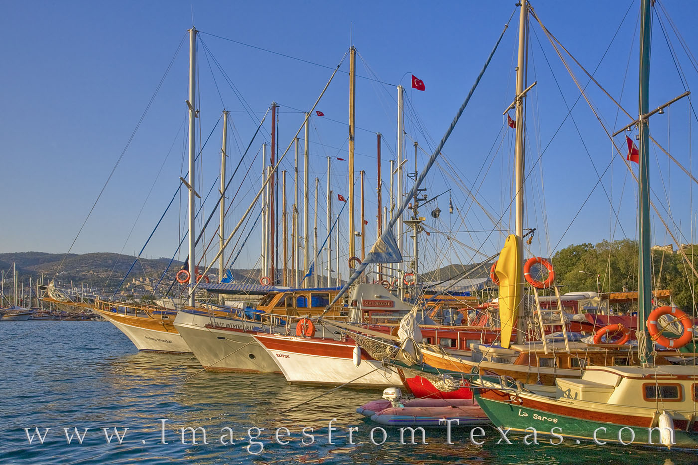 bodrum, turkey, boats, harbor, aegean, Gulf of Gökova, port, photo